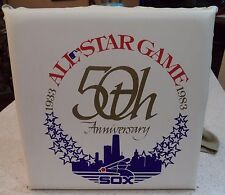 1983 MLB All Star Game Seat Cushion Chicago White Sox