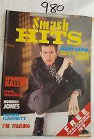 SMASH HITS 1985 SEP 9,SCOTT CARNE COVER,SPANDAU,PETE GARRETT,IM TALKING
