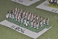 15mm napoleonic french infantry 34 figures (11806)