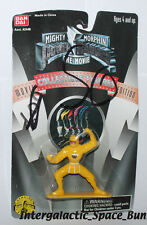 Bandai Mighty Morphin Power Rangers Movie Yellow Ranger PVC Mini Figure Carded