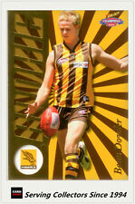 2006 Select AFL Champions Draft Rookie Card DR6 Beau Dowler (Hawks)
