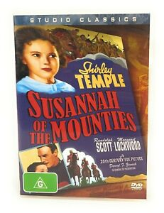 Susannah Of The Mounties (DVD, 1939) Shirley Temple Region 4 Free Postage