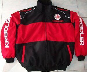 1NEU KREIDLER Fan-Jacke schwarz/rot alle Modelle jacket veste jas jakka giacca