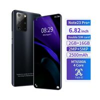 "SMARTPHONE NOTE 23 PRO+ BLACK 16GB 6,8"" 4G ANDROID DUAL SIM 2500MAH-"