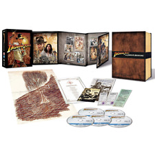 INDIANA JONES  The Complete Adventure - Coll. Edit. (Box 5 Br)