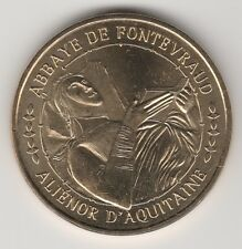 -- 2011 COIN MEDAILLE JETON MONNAIE DE PARIS-- 49 590 ALIENOR D'AQUITAINE ABBAYE