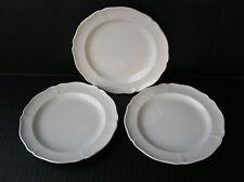 Wedgwood Etruria & Barlaston Queens Shape 3 Bread Butter Plates B & B