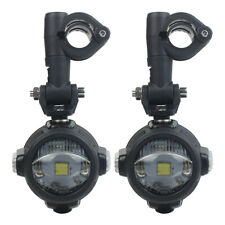 For BMW R1200GS Adventure Moto Led Fog Light with Amber Turn Signal White DRL