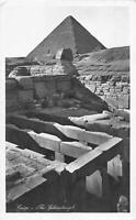 B107393 Egypt Cairo The Sphinxtemple Tempel real photo uk