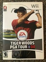 Tiger Woods PGA Tour 08 - Nintendo Wii - Complete w/ Manual - Clean & Tested