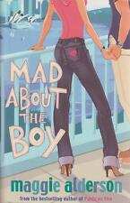 MAGGIE ALDERSON ____ MAD ABOUT THE BOY ____ BRAND NEW ____ FREEPOST UK