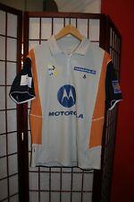 Motorola TEam vitis Badminton vintage match jersey shirt .ALY