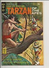TARZAN #191 VF- VERY FINE- OFF- WHITE PAGES BRONZE AGE COMIC GOLD KEY1970