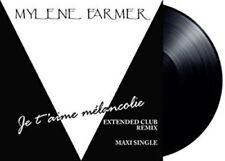 """Mylene Farmer - Je T'Aime Melancolie [New 7"""" Vinyl] 45 Rpm, Ltd Ed, France - Imp"""