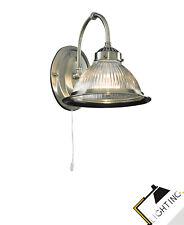 Applique Murale Geripptes Verre en Laiton Interrupteur à Tiré Design Lampe