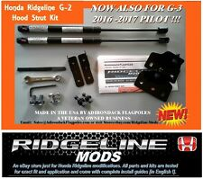 RIDGELINE  2017-18 G2 custom Hood Strut Kit  - FITS G-3 PILOT ALSO MADE IN USA