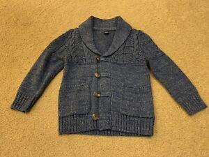 Toddler Boys Gap Blue Cardigan Sweater Size: 3