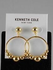 Kenneth Cole New York Polished Goldtone Ball Gypsy Hoop Earrings $32
