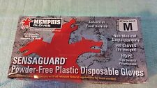 MEMPHIS/MCR/SENSAGUARD Industrial Food Service Powder Free Disposable Gloves MED