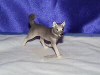 Hagen Renaker Sled Dog  Figurine Miniature 03335 Porcelain Ceramic NEW