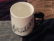 *Shafford Original* - Cleff Note/Musical Staff - MUG / CUP) Vtg.) Free Ship.)