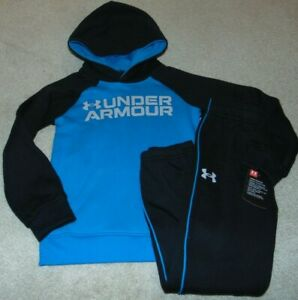 ~NWT Boys UNDER ARMOUR Hoodie Outfit! Size 7 Nice:)!