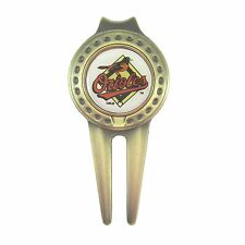 Baltimore Orioles Golfers Divot Tool with Golf Ball Marker