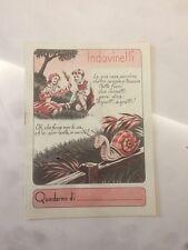2° QUADERNO PUBBLICITARIO OMAGGIO INA ASSICURAZIONI CON CRUCIVERBA NUOVO  12/17