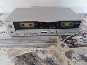 Piastra cassette Technics rs-d550w perfettamente funzionante