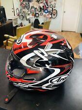 Arai Quantum 2 Twisted Red Black motorcycle helmet L