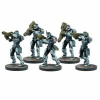 Mantic Warpath Enforcer Heavy support team (unboxed deadzone missile launcher)