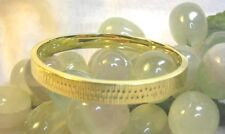 Armreif 585 Gelbgold 14ct massiv 6 x 5,3 cm 20 Gramm Armband Goldarmband