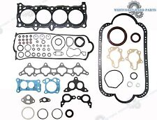 86-89 HONDA Accord Prelude Si 2.0L A20A1 A20A2 A20A3 Full Gasket Replacement Set