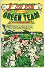 DC COMICS 1st ISSUE SPECIAL #2 THE GREEN TEAM MAY 1975