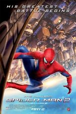 AMAZING SPIDER-MAN 2 2014 Original 2 Sided DS 27x40 Movie Poster Garfield Stone