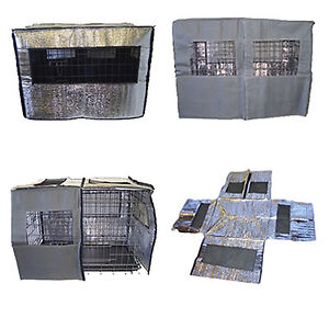 HEAT REFLECTIVE Dog Crate Covers by Doghealth