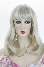 Pearl Platinum Blonde Lt. Cool Beige Blonde Blonde Long Medium Skin Top Str Wigs