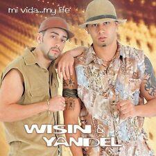 Wisin y yandel Mi Vida my Life CD New Sealed Nuevo el duo de la Historia