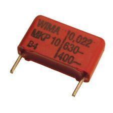 10 WIMA Impulsfester Polypropylen-Kondensator MKP10 630V 0,022uF 15mm 089732
