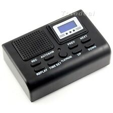 Mini 1GB Digital Telephone Phone Voice Recorder With LCD Display SD Card Slot