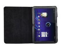 NEW Genuine Leather Case Folio Cover for Motorola Xoom