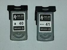 2pk compatible Canon PG-40 Black & CL41 colour Ink Cartridges