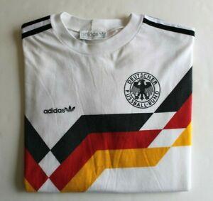 Vintage Replica 1990s German Mens National Team Soccer Shirt in S/M (US)