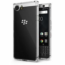 For BlackBerry KEYone Ringke® [FUSION] Transparent PC Shockproof TPU Cover Case