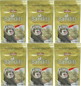 Marshall Bandits Ferret Treats Peanut Butter Flavor 3 oz. 6-Pack