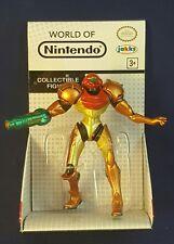 World of Nintendo SAMUS Action Figure SEALED Jakks Pacific 2.5 Inch METROID Nes