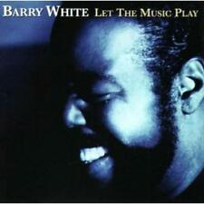 WHITE BARRY - LET THE MUSIC PLAY -12TR- - CD