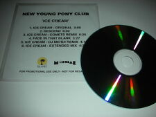New Young Pony Club - Ice Cream - 6 Track