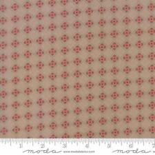 Moda Lella Boutique Olive's Flower Market Flower Box Fabric in Taupe 5035-16