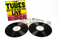 White Punks on Dope-The Tubes! What Do You Want from Live PROMO SP-6003 Vinyl LP